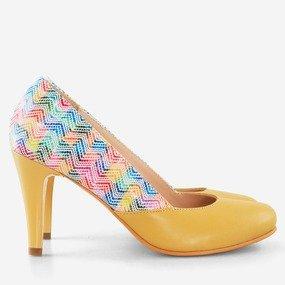 Pantofi din piele naturala Shantal