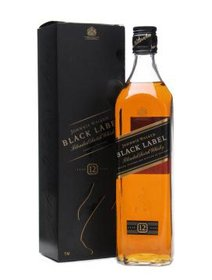 Whisky Johnnie Walker Black , 700 ml, cutie