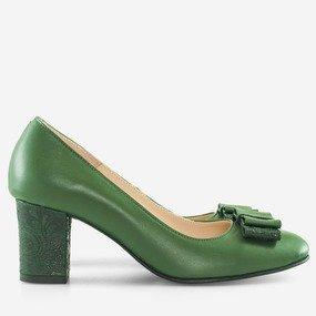 Pantofi office din piele naturala Bardot