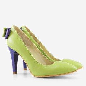 Pantofi stiletto cu funda la spate Adele