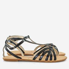 Sandale dama cu talpa joasa din piele naturala Dalia