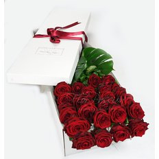 Two Dozen Red Roses | Luxury Gift Box | Milan Florist