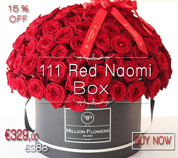 111 Red Naomi Million Flowers