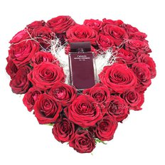 Love Red Roses & L'Absolu Perfume