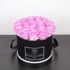 Scatola Rose Rosa Million Flowers