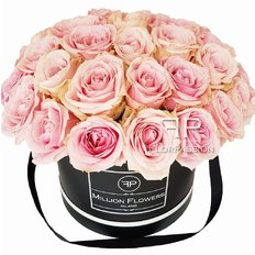 Scatola Rose Rosa | Rose Sweet Avalanche | Million Flowers by FlorPassion